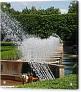 Fountains Acrylic Print