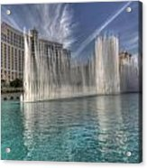 Fountains Of Paradise Acrylic Print