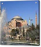 Fountains Of Wisdom Acrylic Print by Frederic Vigne