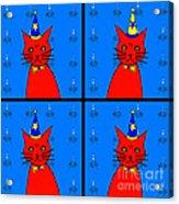 Four Cats Acrylic Print