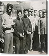 Four Chinese Who Guarded The British Acrylic Print