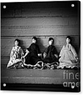 Four Dollies Acrylic Print