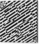Four Leaf Clover Maze  Acrylic Print