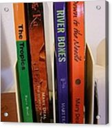 Four Of My Ten Books Published Acrylic Print