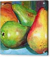 Four Pears Art Blenda Studio Acrylic Print