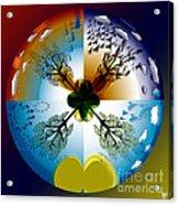 Four Seasons Roundel Acrylic Print