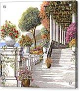 four seasons-summer on lake Como Acrylic Print