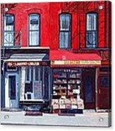 Four Shops On 11th Ave Acrylic Print