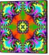 Four Square Spirals Acrylic Print