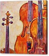 Four Violins Acrylic Print