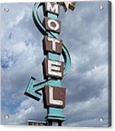 Four Winds Motel Acrylic Print