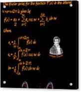 Fourier Series Acrylic Print