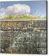 Fourt Moultrie Battery Jasper Wall Acrylic Print