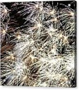 Fourth Of July Fireworks Acrylic Print by Kim Bemis