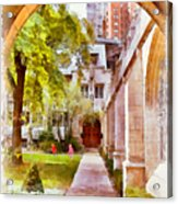 Fourth Presbyterian - A Chicago Sanctuary Acrylic Print by Christine Till