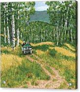 Fourwheeling In Alaska Acrylic Print