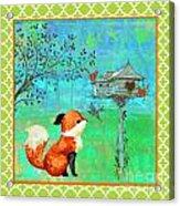Fox-a Acrylic Print