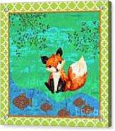 Fox-c Acrylic Print