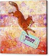 Foxtrot Acrylic Print