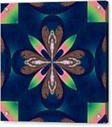Fractal 010 Acrylic Print