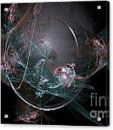 Fractal 073 Acrylic Print