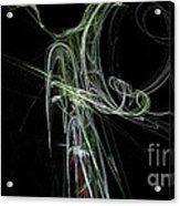 Fractal 28 Lady Acrylic Print