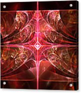 Fractal - Abstract - The Essecence Of Simplicity Acrylic Print