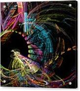 Fractal - Black Hole Acrylic Print