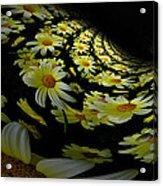 Fractal Daisies Acrylic Print