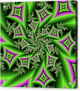 Fractal Dancing Shapes Acrylic Print