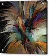 Fractal Feathers Acrylic Print