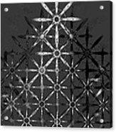 Fractal Flakes Acrylic Print
