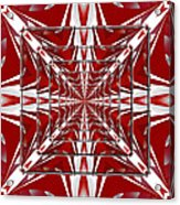 Fractal Reflections Acrylic Print
