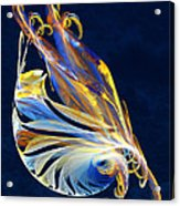 Fractal - Sea Creature Acrylic Print by Susan Savad