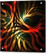 Fractal Swirl Acrylic Print