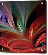 Fractal Vortex Swirl Acrylic Print