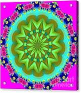 Fractalscope 28 Acrylic Print