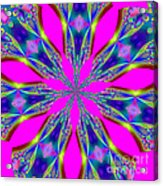 Fractalscope 29 Acrylic Print