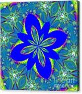 Fractalscope 9 Acrylic Print