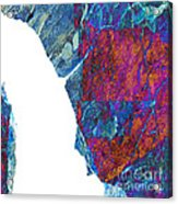 Fracture Section Xiii Acrylic Print