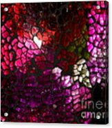 Fractured Color Acrylic Print