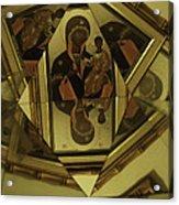 Fractured Faith Acrylic Print