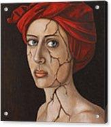 Fractured Identity Edit 1 Acrylic Print