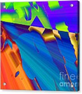 Fractures Acrylic Print