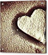Imprint On My Heart Acrylic Print