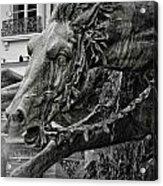 Fragment Of Bartholdi Fountain Acrylic Print