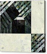 Fragmented Abstract Art Acrylic Print