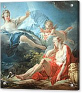 Fragonard's Diana And Endymion Acrylic Print
