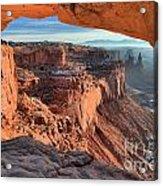 Framed Canyon Acrylic Print