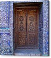 Framed Door In Kheiva Acrylic Print